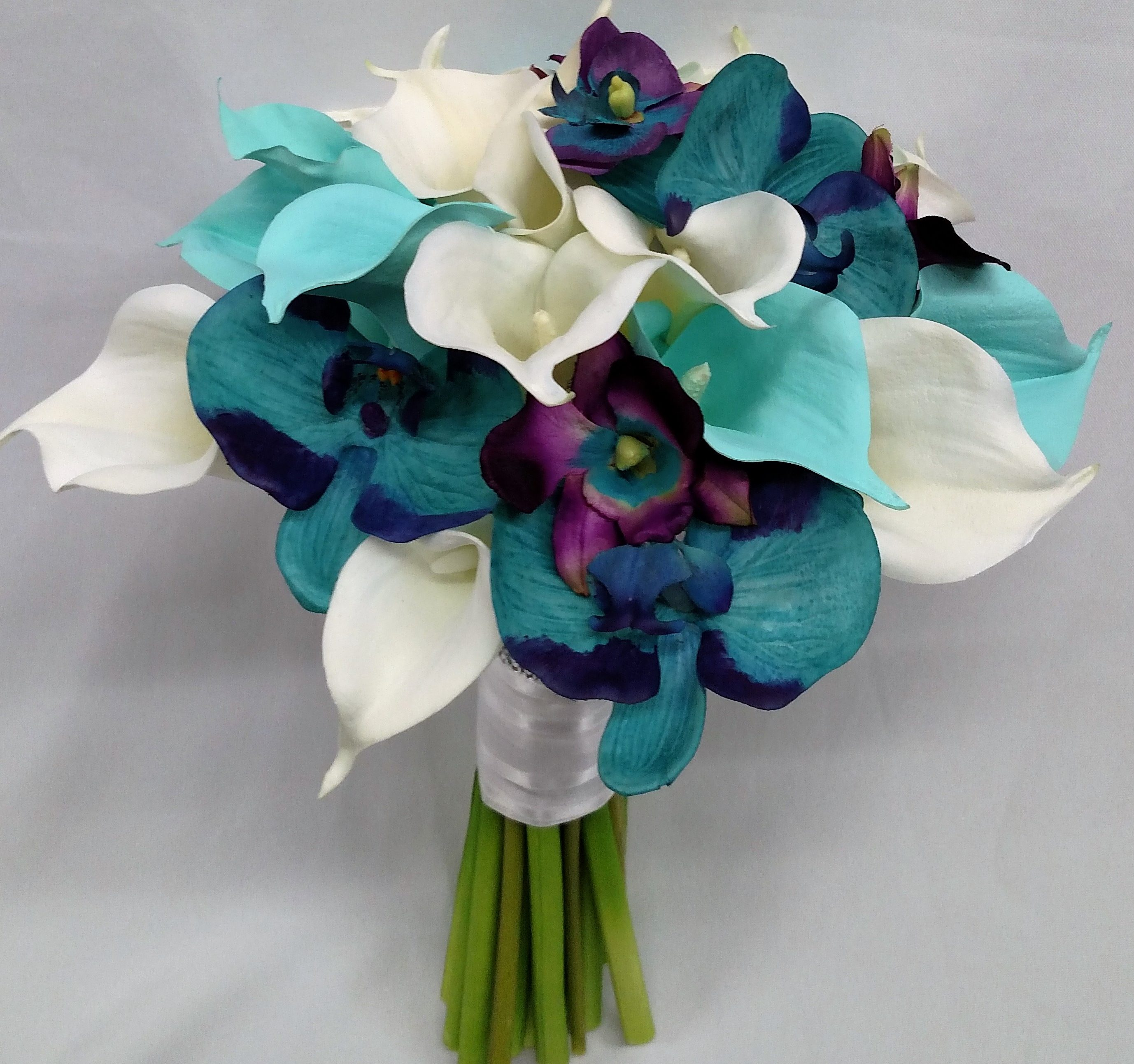 Orchid And Calla Lily Bouquet A Unique Flower Gift Shop